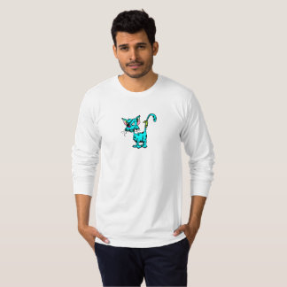 Ratchet Cat Mens Long Sleeve Shirt
