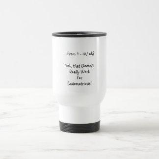 Rate My Endometriosis pain... Travel Mug