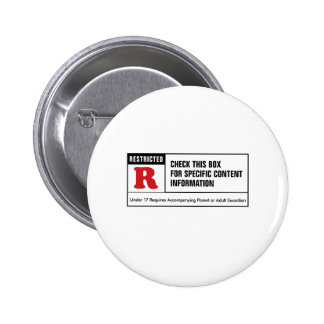 Rated R Buttons