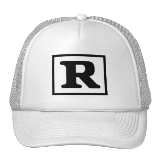 Rated R Trucker Hat