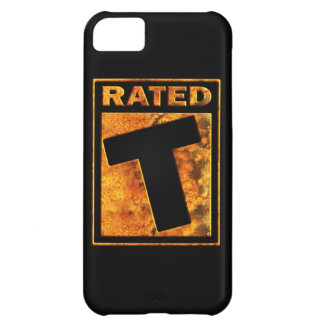 Rated-T for Teen Cover For iPhone 5C