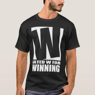 Rated W For Winning - Dark T-Shirt