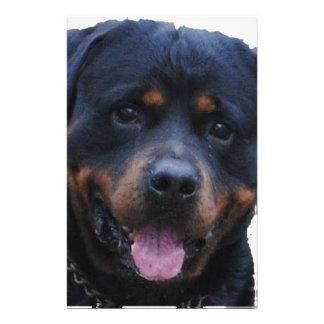 Rath Rottweiler Customized Stationery