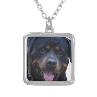 Rath Rottweiler Silver Plated Necklace