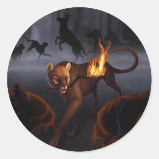 Ratha's Creature Classic Round Sticker