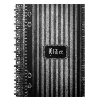 Rathbone Victorian Stripe Notebook