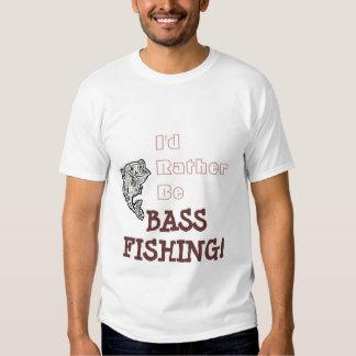 Rather Be Bass Fishing! Tee Shirt