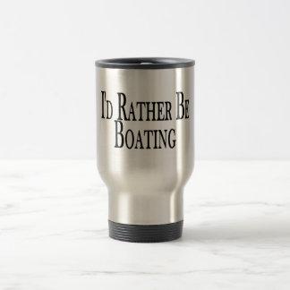 Rather Be Boating Coffee Mug