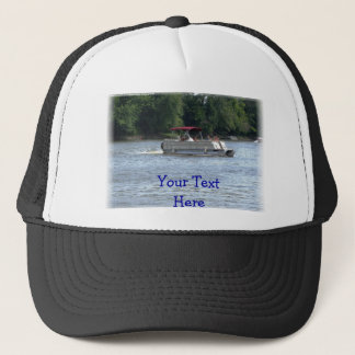 Rather Be Boating, Your Text Here Trucker Hat