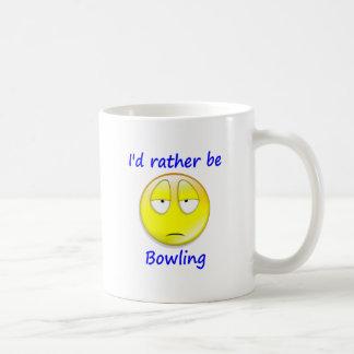 Rather Be Bowling Coffee Mug