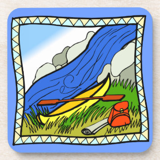 Rather be Canoeing  Design  coasters