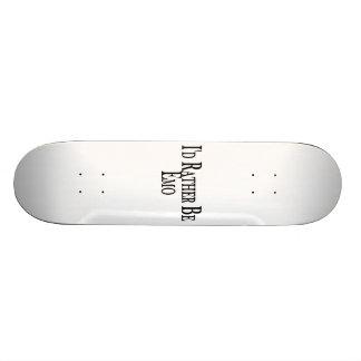 Rather Be Emo Custom Skate Board
