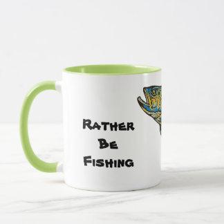 Rather Be Fishing Coffee Mug. Gift for Dad Mug