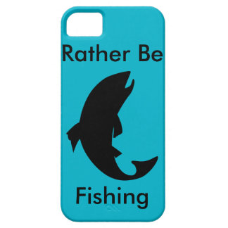 Rather Be Fishing Phone Case