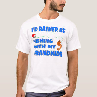 Rather Be Fishing With Grandkids T-Shirt