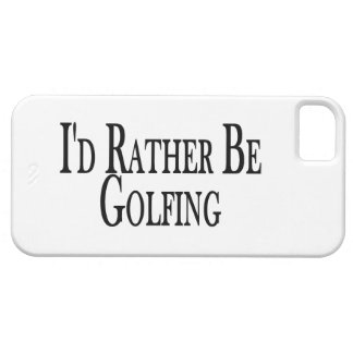 Rather Be Golfing iPhone 5 Case