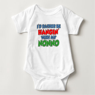 Rather Be Hanging With Nonno Baby Bodysuit