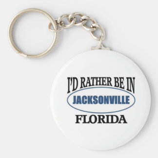 Rather be in Jacksonville Florida Keychain