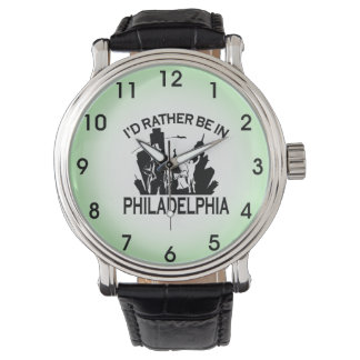 Rather be in Philadelphia Wrist Watches
