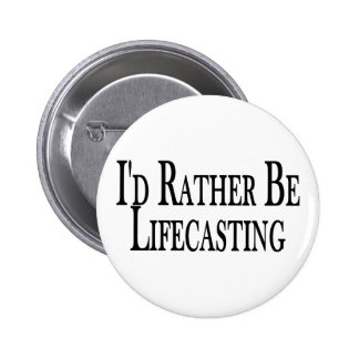 Rather Be Lifecasting 2 Inch Round Button