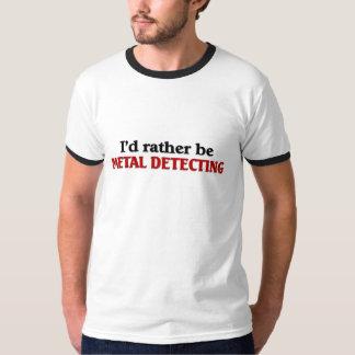 Rather be Metal Detecting T-Shirt