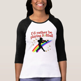 RATHER BE PLAYING SOFTBALL T-Shirt