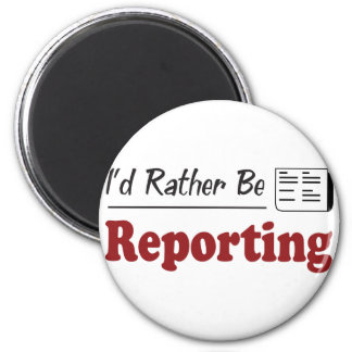 Rather Be Reporting Fridge Magnets