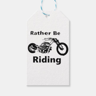 Rather Be Riding Gift Tags