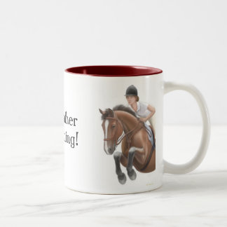Rather be Riding Horse Mug