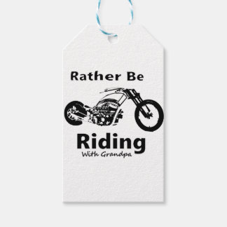 Rather Be Riding w grandpa Gift Tags