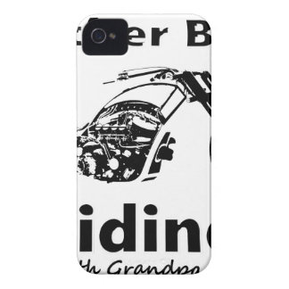 Rather Be Riding w grandpa iPhone 4 Case-Mate Case