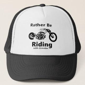Rather Be Riding w grandpa Trucker Hat