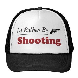 Rather Be Shooting Trucker Hats