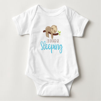 Rather Be Sleeping Jersey Bodysuit