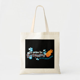 Rather Be Swimming in La Jolla Cove Tote Bag