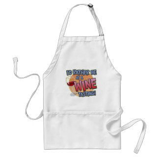 Rather Be Wine Tasting Apron