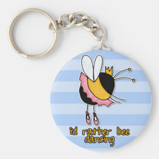 rather bee dancing keychain