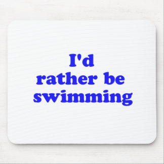 rather swimming mouse pad
