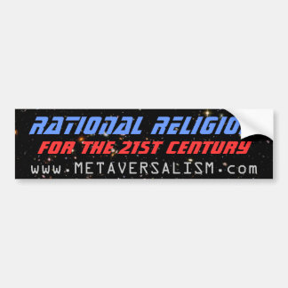 Rational Religion Bumper Sticker