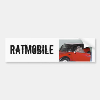 RATMOBILE BUMPER STICKER