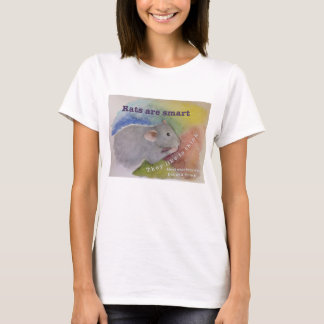 Rats Are Smart T Shirt