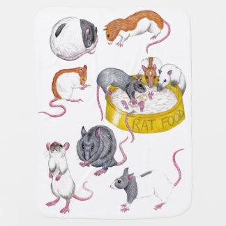 rats baby blanket