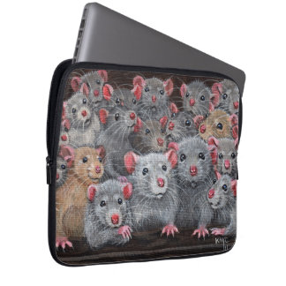 Rats bunch Rattie Reunion laptop sleeve Bag