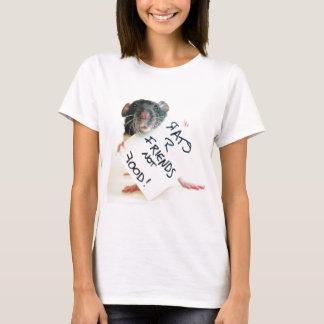 Rats R Friends Not Food T-Shirt