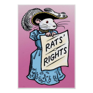 Rats Rights Poster