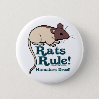 Rats Rule! 2 Inch Round Button
