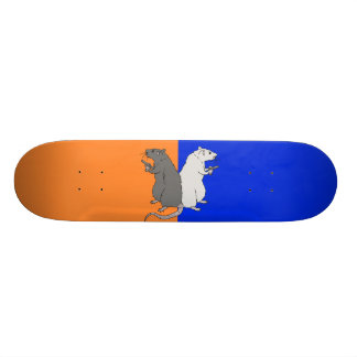 Rats with Gats Custom Skate Board