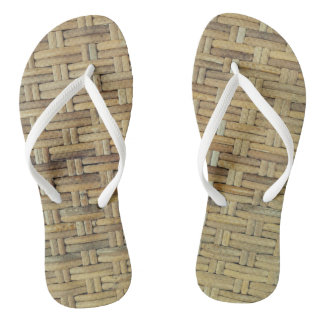 Rattan Flip Flops