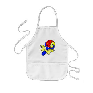 rattle primary colors aprons