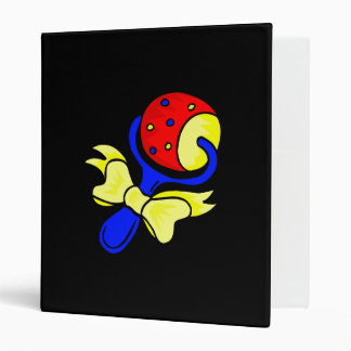 rattle primary colors 3 ring binders